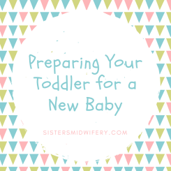 preparing your toddler for a new baby